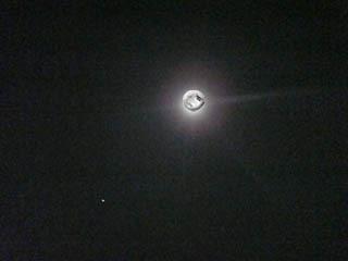 月をぱちり