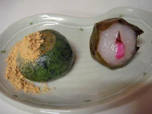 草餅&桜餅